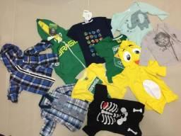 Lote roupa para bebê
