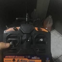Rádio + Receptor Hobbyking 2.4Ghz 6Ch HK-T6A V2, Facço ML
