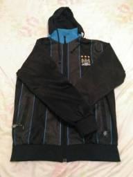 Blusa de frio de time troco em um moleton