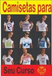 Camisetas Para Seu Curso e Turma