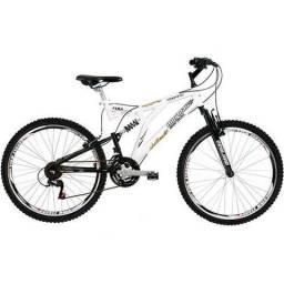 Bicicleta Mormaii Aro 26 Alumínio Full Suspensão Padang 24 Marchas