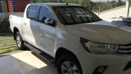 Hilux SRV aut flex 4x2 - 2017