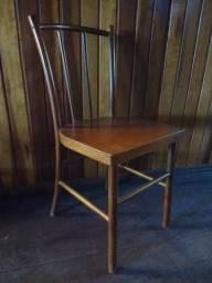 Cadeira Em Madeira Vergada Marca Pigatto Paris Nova (Segunda Linha Thonart )