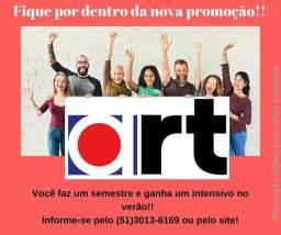 Inglês no sábado é na Art!!