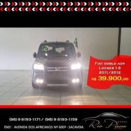 Fiat Doblo Adventure Locker 1.8 Top de Linha 11/12 - Aceito seu Carro e Financio - 2012