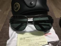 Óculos de sol rayban original comprado na ponto de visão novo nunca foi usado