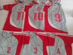 Camisas padrão de futebol