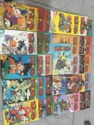 Mangas antigos de Dragon Ball e Dragon Ball Z