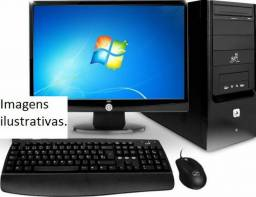 PC Completo core i3- Tela de 19'-4GB-hd 500 GB - Garantia