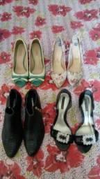 Vendo lote de sapatos femininos barato!