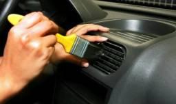 Higienização de carro 150 Reais