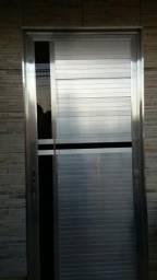 Vendo porta e janela de aluminio