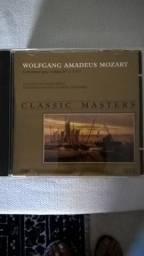 17 CD's Classic Masters de Wolfgang Amadeus Mozart, ótimo estado. Originas