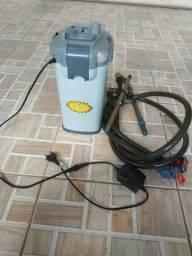 Filtro canister 1200 lts por hora com uv