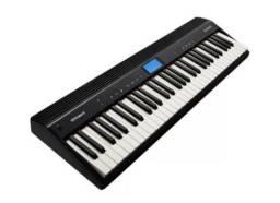 Piano Digital Compacto Roland Go 61 Com 61 Teclas Bluetooth