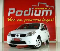 Renault Sandero Authetique 1.0 Flex Manual | Baixa KM 4P - 2011