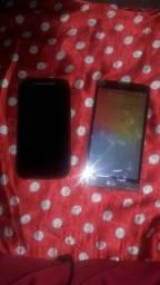 Vendo os 2 telefones pra quem tem o interesse em conserta