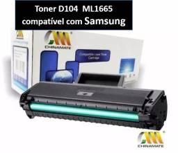 Toner D104 ML1665 compatível com Samsung- NOVO