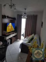 Apartamento com 2 dormitórios à venda, 57 m² por R$ 276.000,00 - Areia Branca - Santos/SP