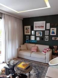 Apartamento com 3 dormitórios à venda, 136 m² por R$ 848.000,00 - Tatuapé - São Paulo/SP