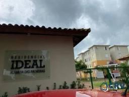 Apartamento com 2 dormitórios para alugar, 49 m² por R$ 650,00/mês - Jardim Jockey Club -