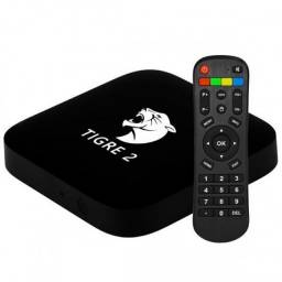 Tigre Dois Tv Box 4K Original Garantia - Loja Natan Abreu
