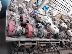Motor a gasolina - Vibrador e Acabadora de Superfície - Sucata ( LOTE )