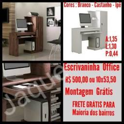 Escrivaninha Office / Montagem Grátis.