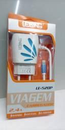 Carregador de celular tipo P