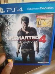 Vendo ou troco Uncharted 4