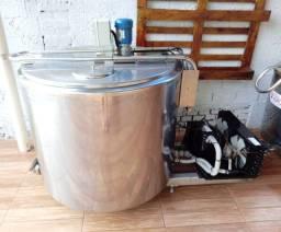 Tanque Agranel Inox Circular Tina Maturação Calda Sorvete Açaí 500 Litros