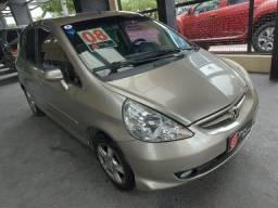 Honda Fit 1.4 Lxl 16V Flex 4P AUT. Câmbio CVT 2008 + Couro