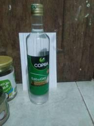 Oleo vegetal de coco 500 ml puro