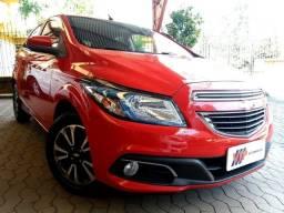 Ônix LTZ 1.4 flex Automático 2014 vermelho, único dono, impecável