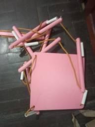 Balanço rosa