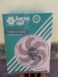 Ventilador de parede tufão e turbo novo