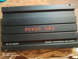 Módulo power one 2400 watts 480,00. R$