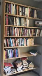 Lote de livros seminovos