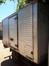 Baú de caminhão hyundai.