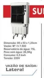 Climatizador Portátil p/ até 80mts