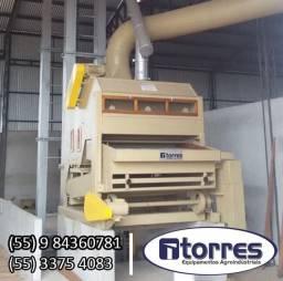 Máquina pré limpeza 20 toneladas hora kepler weber