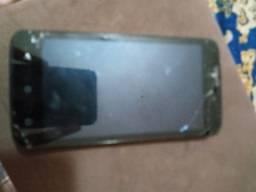 Moto C tela quebrada