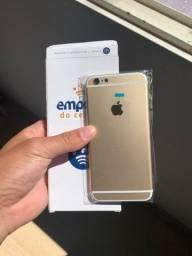Carcaça iPhone 6 gold nova