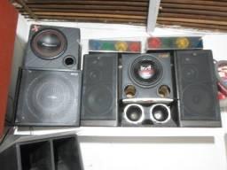 Vendo caixas de som, amplificadores, twiters