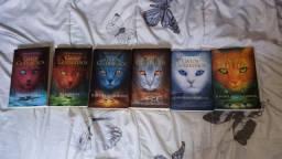 Vendo ou troco coleção de livros Gatos Guerreiros