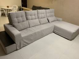 Lindo sofá em dois módulos