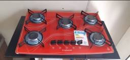 fogão cooktop 5 bocas promoção