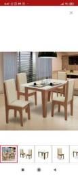 Título do anúncio: Mesa + 4 cadeiras nova