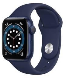 Apple Watch Series 6 (gps) 44mm Cor Blue (azul) Sport Band