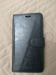 Título do anúncio: Capinha carteira em couro LG X CAM